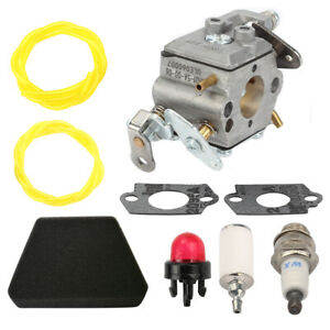 Carburetor Carb Kit For Poulan 2450 2550 2250 2350 2375 222 262 Gas Chainsaw NEW