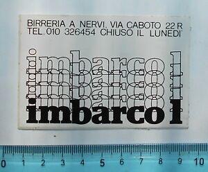 ALTER-AUFKLEBER-ADESIVO-STICKER-IMBARCO-1-ANNI-039-80-VINTAGE-9x6-cm