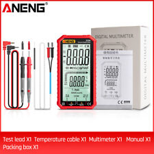 Aneng 620a Lcd Digital Multimeter Trms 6000 Counts Auto Range Ncv Tester K4t3