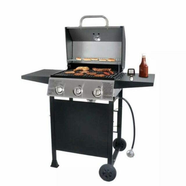 Blue Rhino Portable LP Gas BBQ Grill Outdoor Stainless ...