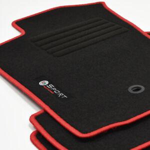 Velours Edition Fußmatten 4-teilig für Alfa Romeo GT ab Bj.2004 - 2010 rot