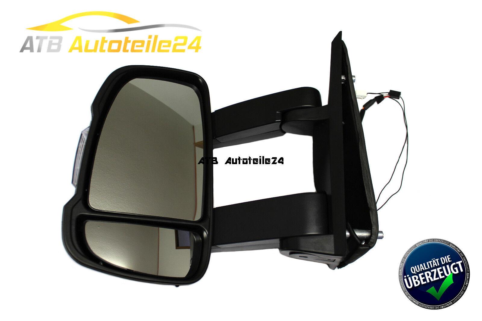 Außenspiegel langer Arm Fiat Ducato 250 Citroen Jumper Peugeot Boxer rechts