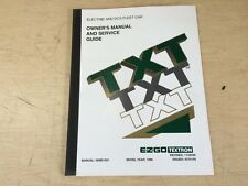 s l225 ezgo 28296g01 1996 service parts manual for electric medalist golf