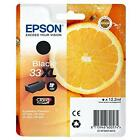 Genuine Epson 33xl Black Cartridge Original Vacuum Ink T3351 Oranges 2019