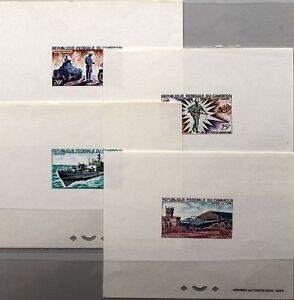 CAMEROUN-KAMERUN-1966-475-78-C73-76-DELUXE-Forces-Armee-Marine-Luftwaffe-MNH