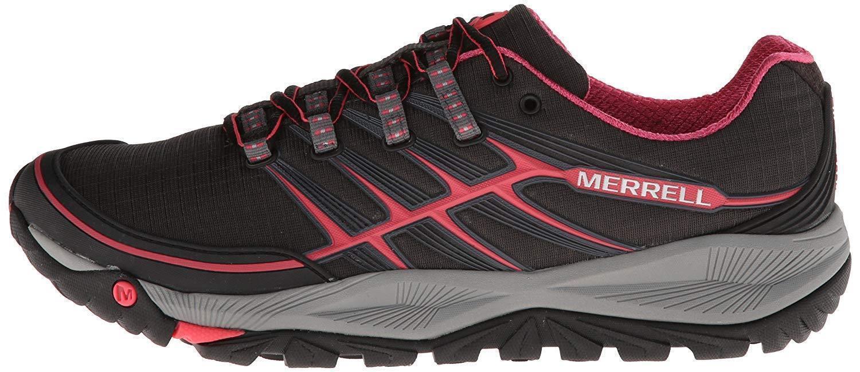 Para mujeres Zapatos Merrell Salida Rush Trail Running Running Running Talla 6 Negro rosado gris J06482  precioso