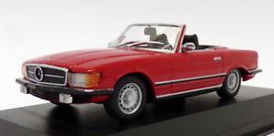 Maxichamps-1-43-escala-940-033432-a-1974-Mercedes-Benz-350-SL-Rojo