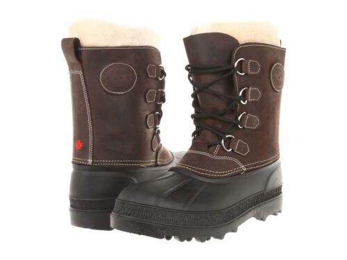 Shearling Snow Winterlaarzen Kamik Pearson Bruin Waterproof Canada Dames Leather 54ARLj