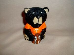 Black Tennessee Moonshine  Bear, Hand Carved