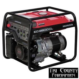 Honda Generator EG6500 6500 Watts 120/240 Volt Operation L@@K