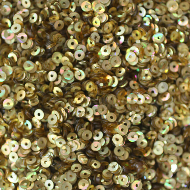 Gold SEQUINS 8mm Flat Loose PAILLETTES ~ Gold Nugget SNAKE SKIN LIZARD effect
