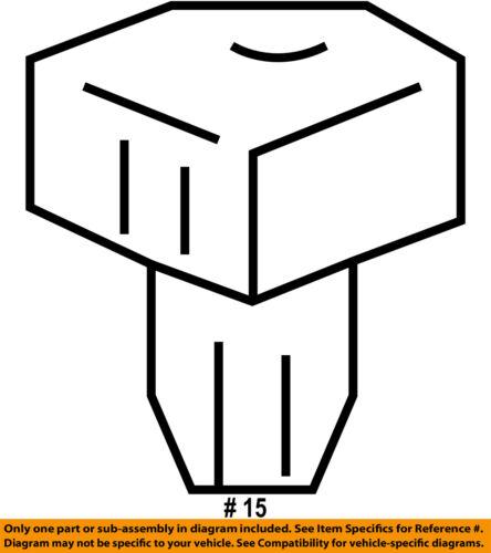 GM OEM-Outside Air Ambient Temperature Sensor 25775833