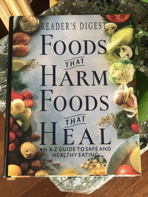 Foods That Harm, Foods That Heal ~ READERS DIGEST Book Excellent Condition