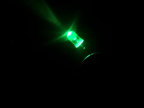 BLUE WHITE GREEN 50PCS 5MM LED WATERCLEAR RED YELLOW