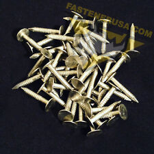1 Annular Ring Shank Solid 304 Stainless Steel Roofing Nails 10 Ga 50 Pcs