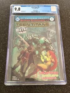 Teen Titans 12 DC CGC 9.8 Foil 1st Batman Who Laughs 1 Dark Nights Metal