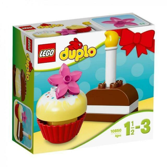 10850 LEGO DUPLO My First My First Cakes 8 Pieces Age 1½-3 New Release for 2017!