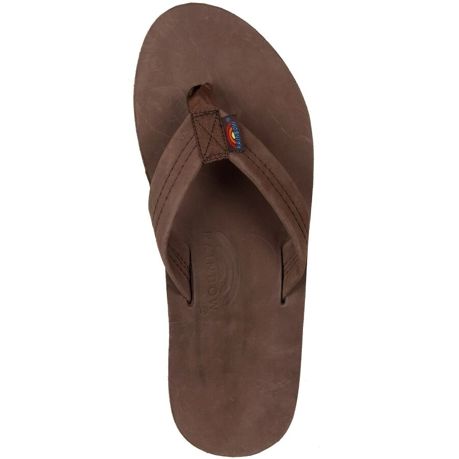 Rainbow Sandals 301ALTS Espresso Single Layer Flip Flop Mens sizes S-XXXL