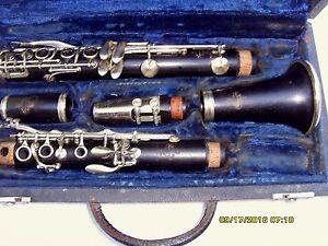 Miraculous Details About Professional Vintage Buffet Crampon Paris Bb Clarinet Ser 45223 Interior Design Ideas Gresisoteloinfo