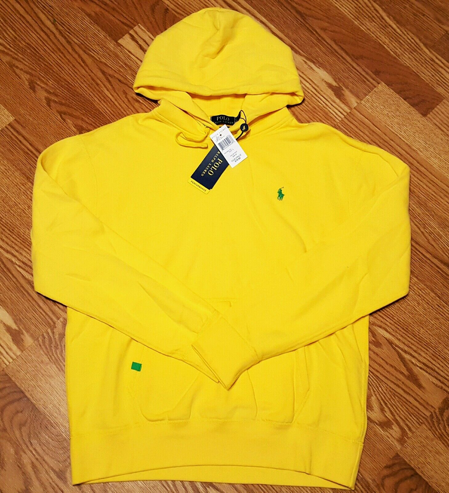 RALPH LAUREN FLEECE PERFORMANCE HOODIE   SZ. XL  NWT RETAIL