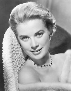 GRACE-KELLY-8x10-PICTURE-STUNNING-CLOSE-UP-PHOTO-SUPERB