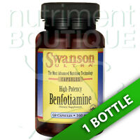 Swanson High-potency Benfotiamine 160 Mg 60 Caps