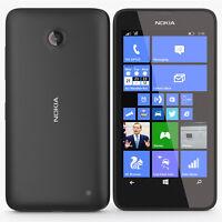 New NOKIA LUMIA 635 BLACK WINDOWS 8 UNLOCKED 8Gb 4G LTE Cheap Smartphone Bar