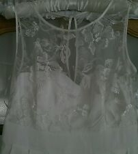 Wedding / Evening dress Ivory Debut Collection @ Debenhams Size 12 RRP £220 Used