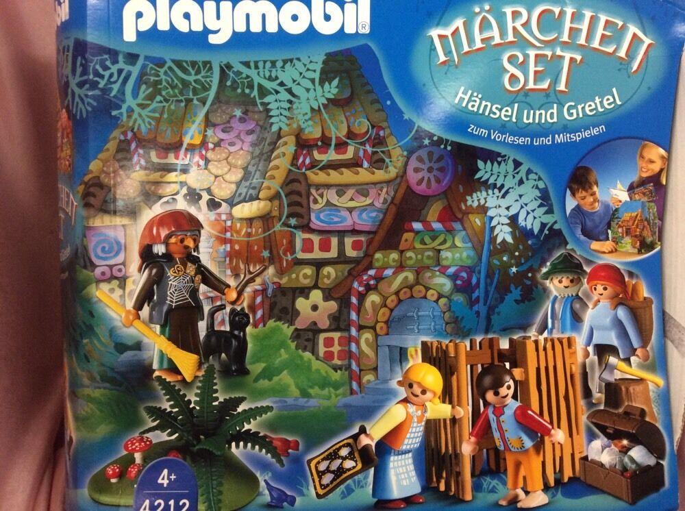 Playmobil 4212 Marchen Set Hansel och &Gretel Fairhyle MYCKET RARE VHTF REIröd