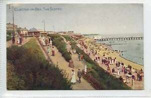 Ln044-374-CLACTON-ON-SEA-The-Slopes-c1920-Unused-G-VG