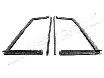 1966-1967 Jeep Commando 1966-1973 Jeepster hardtop roof rail weatherstrip seals