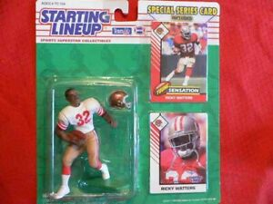 Ricky-Watters-49ers-1993-Starting-Lineup-Figure-MOC