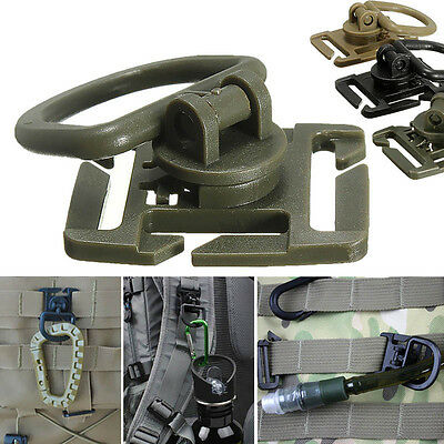 2//5Pcs Molle Strap Backpack Bag Webbing Connecting Buckle Clip EDC Outdoor LY