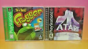 Frogger-Atari-Anniversary-Playstation-1-2-PS1-PS2-Game-Show-Lot-Complete