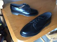 Vintage Dr Martens 2093 Black Shoes Uk 7 Eu 41 England Skin Ward Mod Kawaii 1461