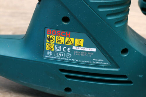 390W Bosch AHS 2400 AHS2400 Heckenschere 3 600 H47 078 Schnittlänge 420 mm