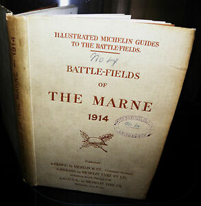 BATTLE-FIELDS-OF-THE-MARNE-1914-1919-hardback-vintage-collectible