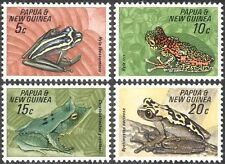 Papua New Guinea 1968 Frogs/Animals/Amphibians/Nature/Conservation 4v set n11960