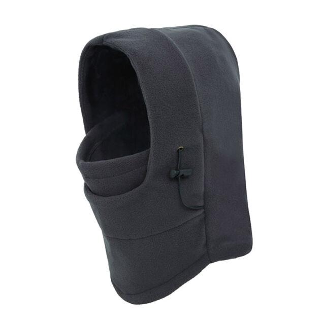 Thermal Fleece Neck Winter Ski Outdoor Sports Full Face Mask Hat Ski Cap