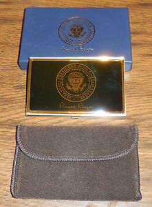 President-Reagan-Card-Case-with-Presentation-Box