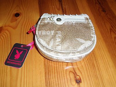 *NEW* Playboy Gold Ladies Coin Purse Wallet