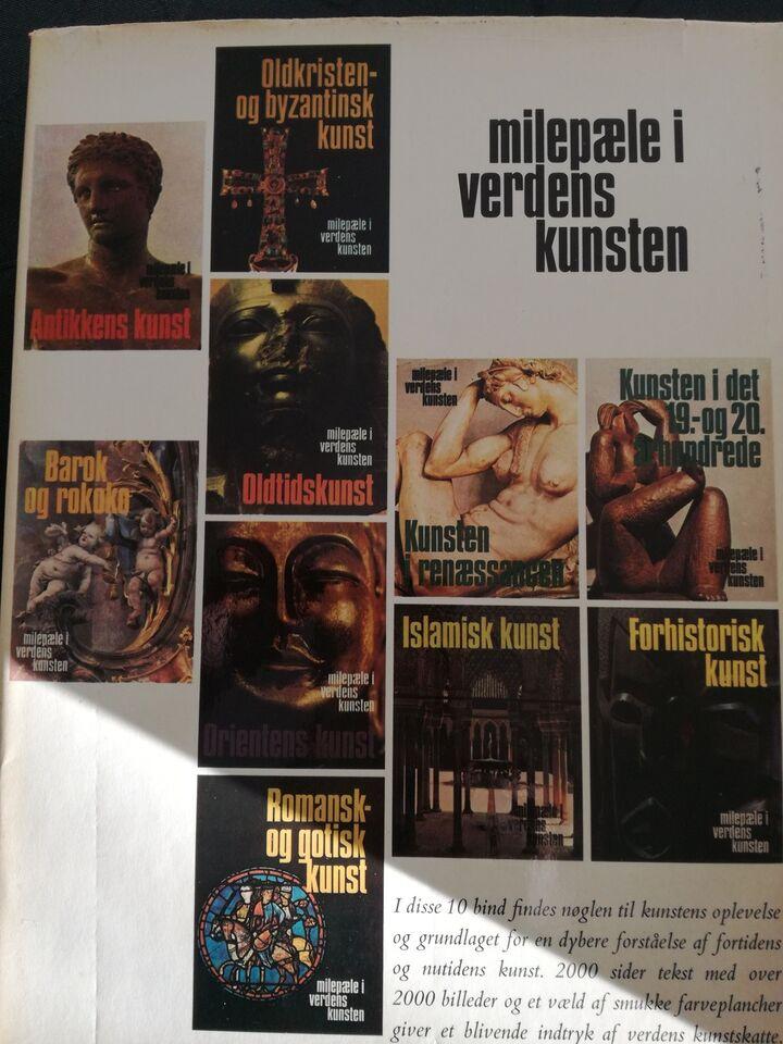 Bøger og blade, Illustreret kunst bøger i 10 bind