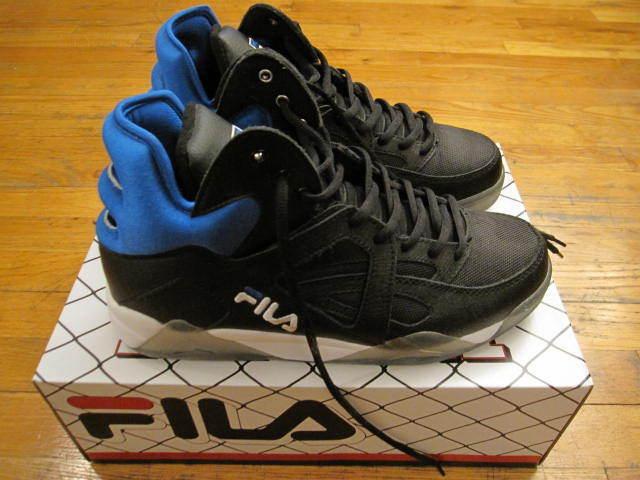 984a91ab8ad1 FILA The Cage Retro Basketball Sneaker (size 10) Grant Hill   Black ...