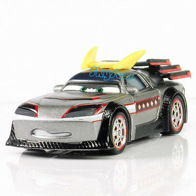 Disney Pixar Cars 1:55 Kabuto Diecast Meatl Car Toy Model Kids Gift Rare Loose