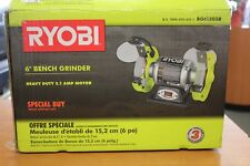 Fantastic Ryobi 6 Thin Line Bench Grinder Model Bgh615 3600Rpm 2 1A Gmtry Best Dining Table And Chair Ideas Images Gmtryco