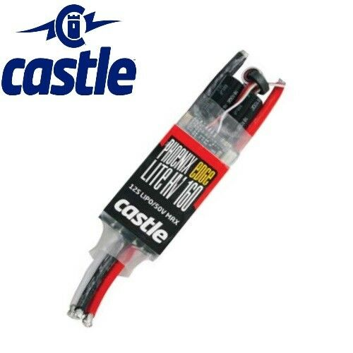 Castle Creations Phoenix Lite 160 HV 50.4V 160 Edge Amp Brushless Esc