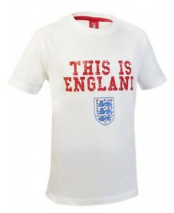 Official-Licensed-England-Football-Kids-This-is-England-T-Shirt-White