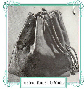 Vintage-sewing-pattern-How-to-make-a-1940s-drawstring-sectional-hand-bag