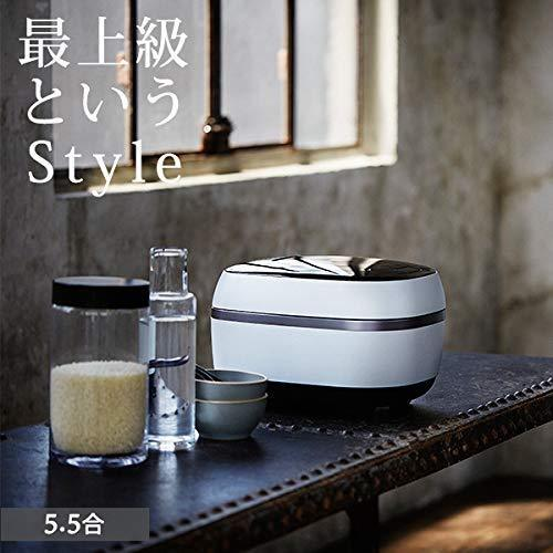 Tiger GRAND X Cuite Pot IH Cuiseur à riz 5.5 Go JPG-X100-WF