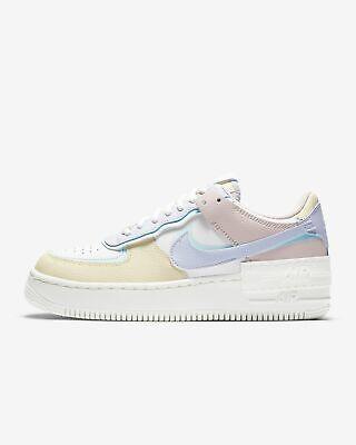 Women's Nike Air Force 1 Shadow Pastel White Glacier Blue ...